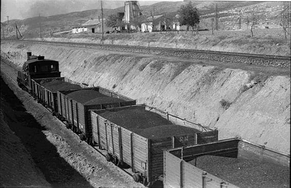 Transportando carbón