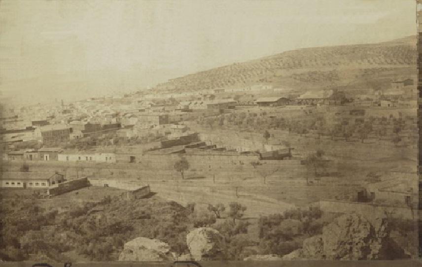 Puertollano desde Cerro Santa Ana Principios S. XX