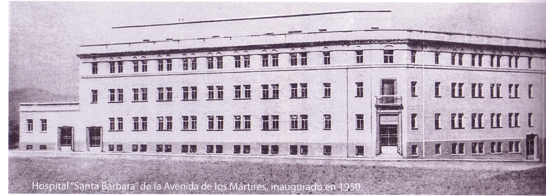 Hospital Santa Bárbara 1950