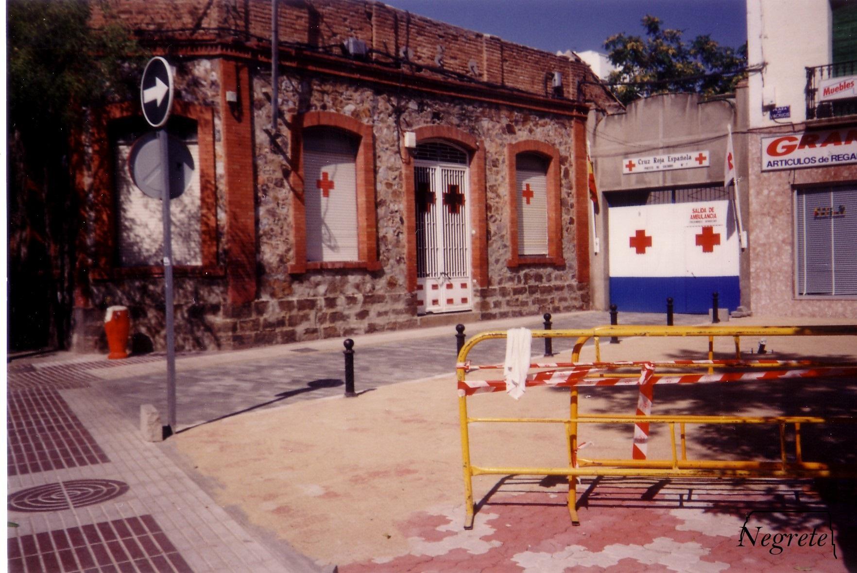 Cruz Roja. 1990 Fotografía F. Negrete