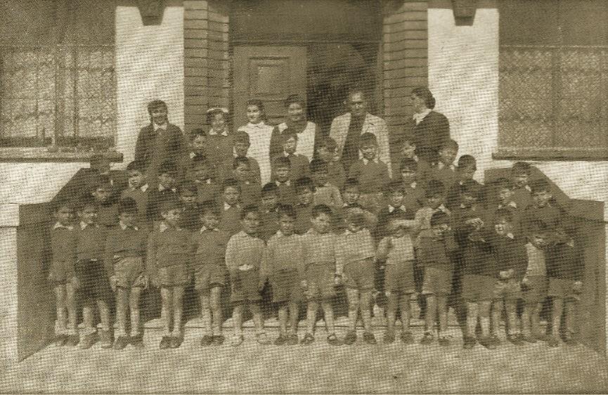Guardería Infantil de Auxilio Social Ntra. Sra. de Gracia 1953. Fotografía Gómez.