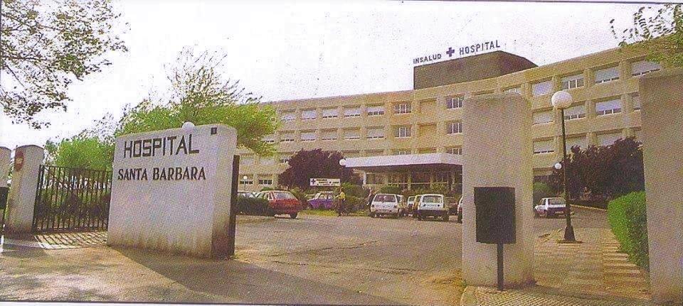 Hospital Santa Bárbara. Década de los 90
