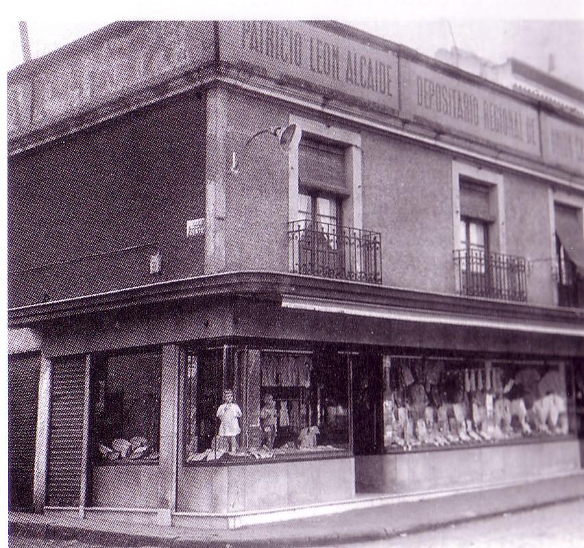 Casa tienda de Patricio León. Fotografía Oña
