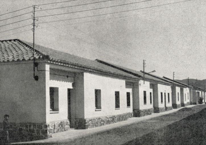 Vivienda corporativa Santa Bárbara en la barriada Libertad