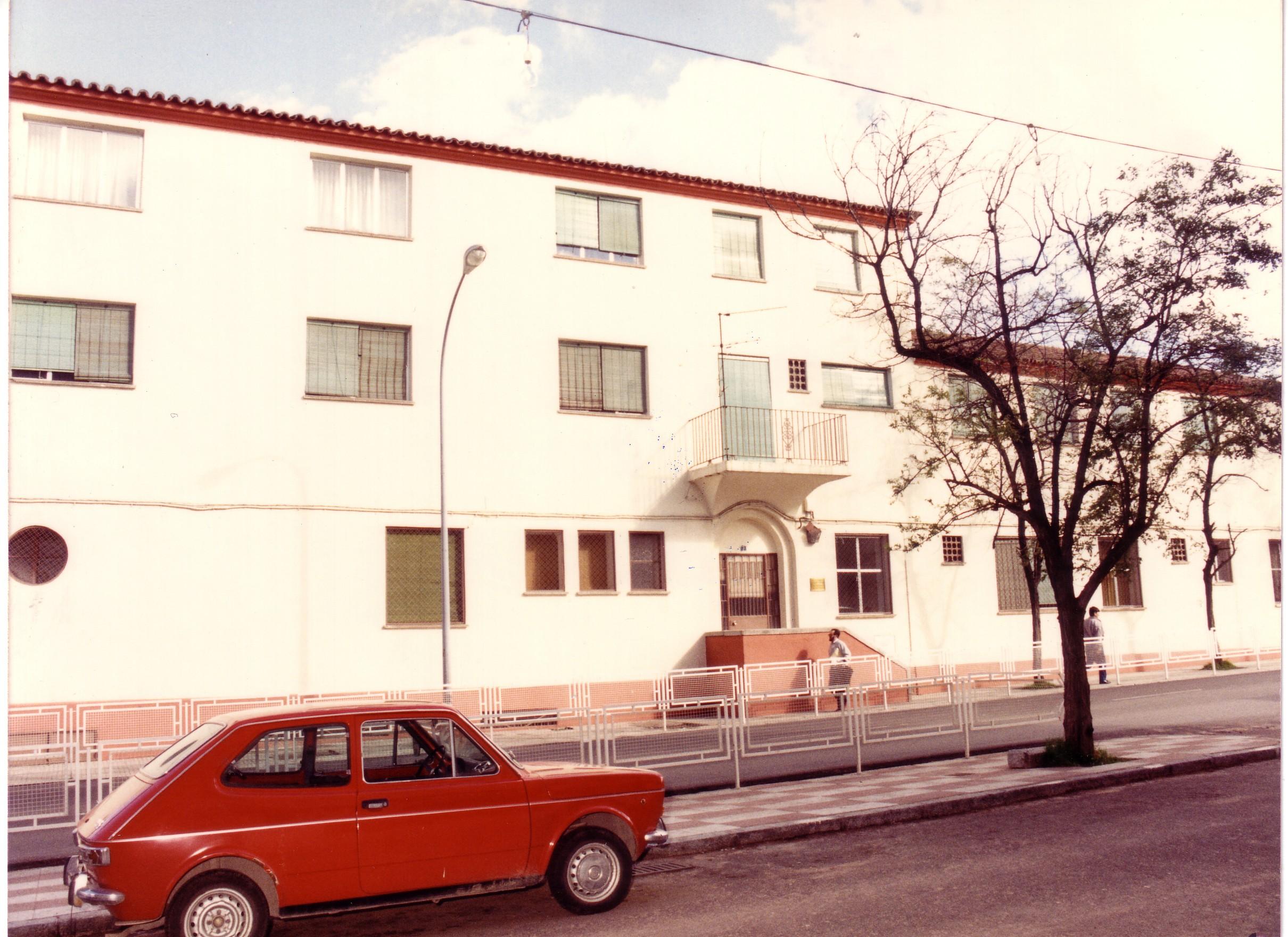 Hogar Infantil 1986. Archivo F. Negrete