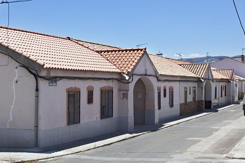 Viviendas de la Calle Enrique Granados, barriada Libertad. Puertollano