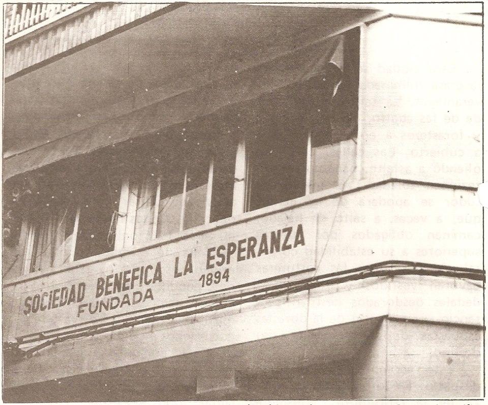 La Benéfica. Fotografía. Felipe Valentín García