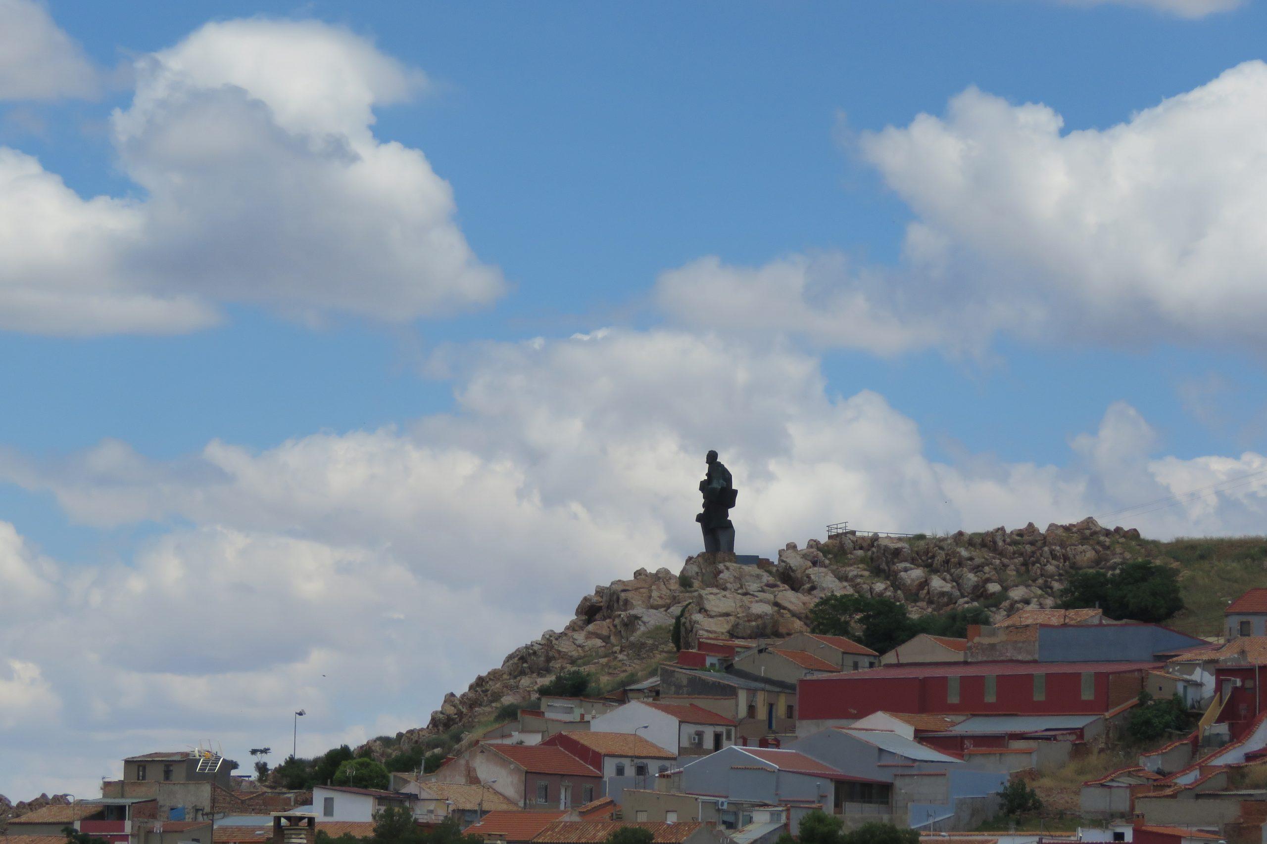 Monumento al minero. Fotografía F. Negrete