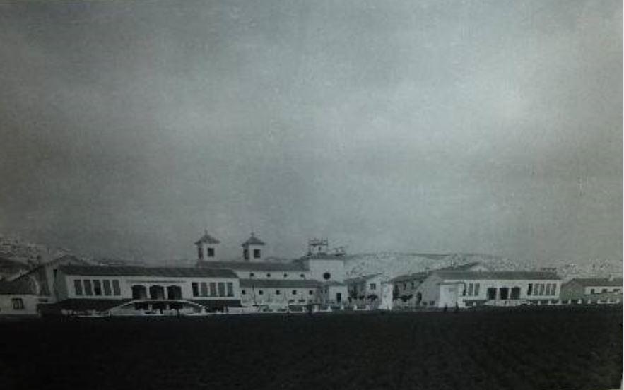 Vista general barriada 309. Año 1956