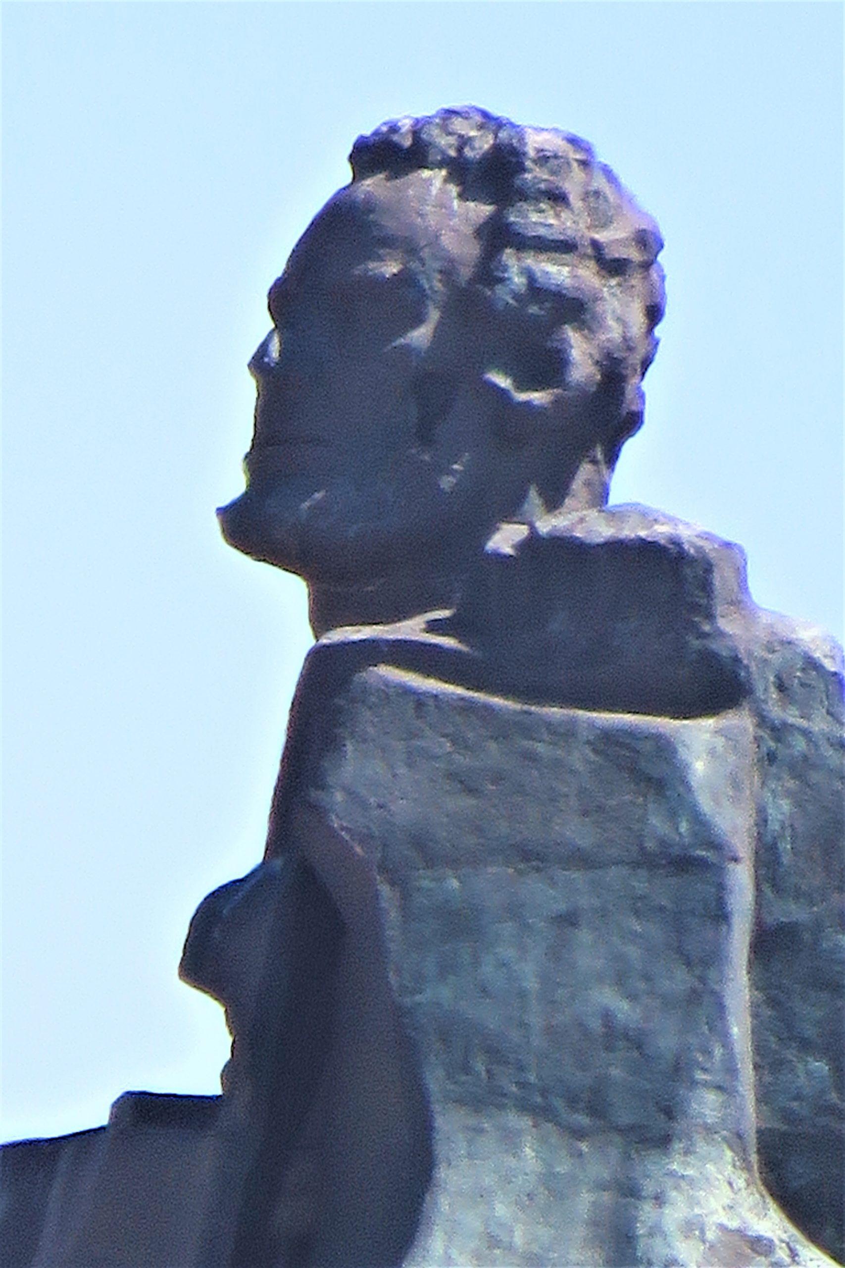 Detalle del Monumento al Minero. Fotografía F. Negrete