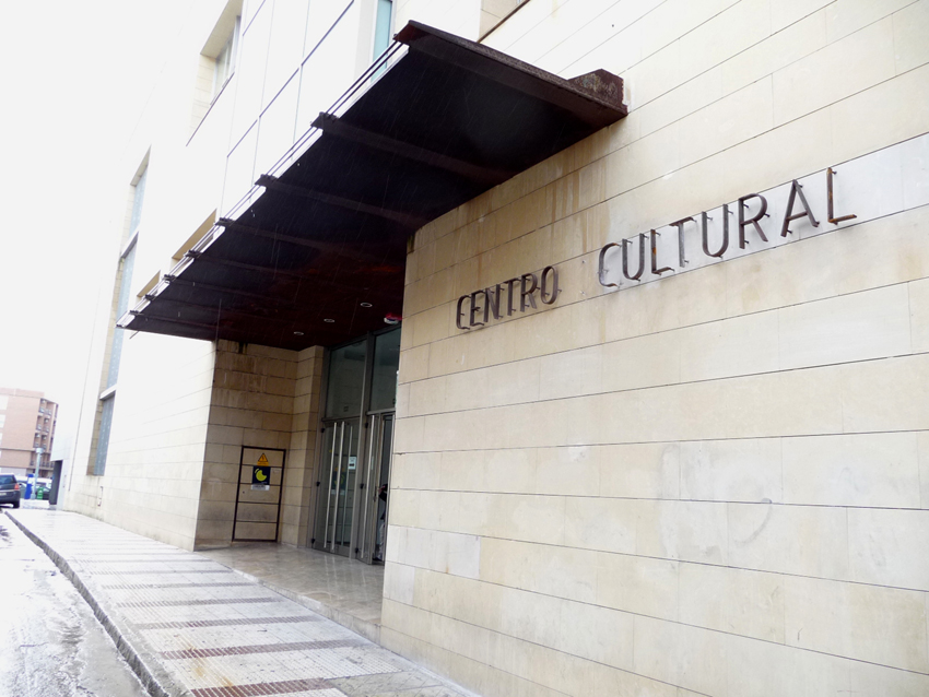 La Biblioteca actual está en el Centro Cultural de la calle Numancia. 2015