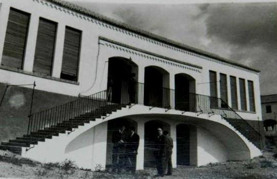 Construcción del colegio Calderón de la Barca