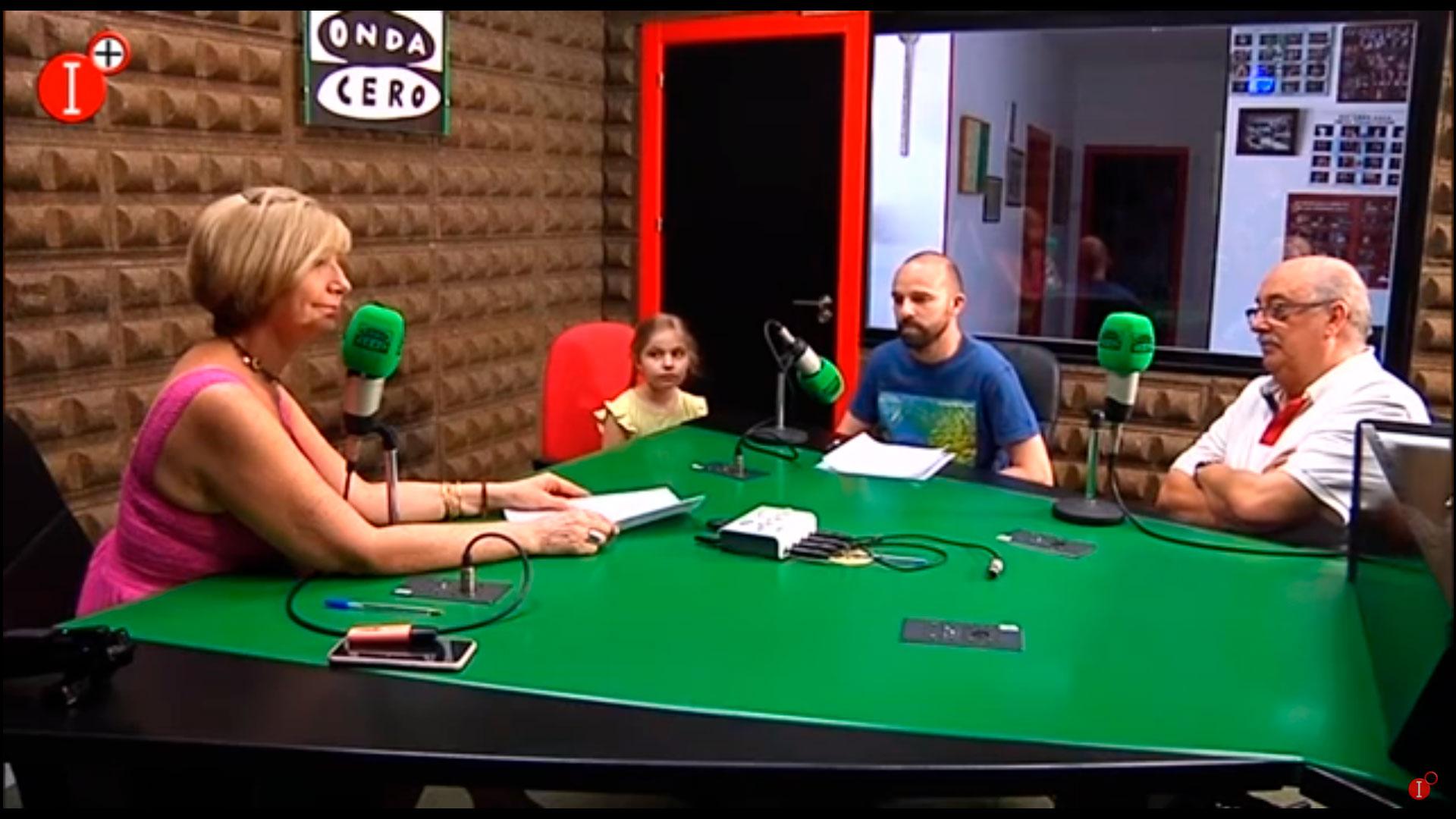 """Entrevista en """"Más de uno"""" de Imas TV al presidente y vicepresidente de la Asociación Portus Planus"""