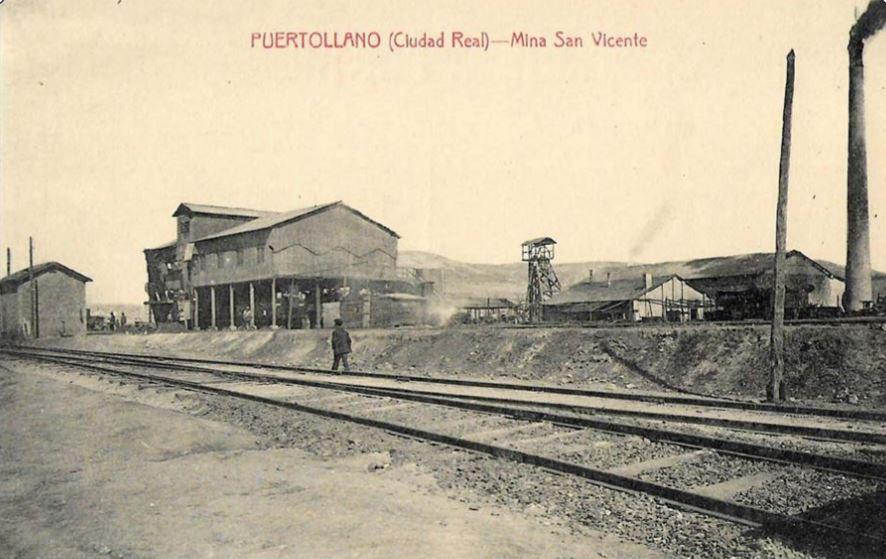 Mina San Vicente. Fotografía Enrique Malagón. 1920