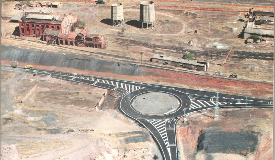 Vista del Apartadero de Calatrava y variante sur
