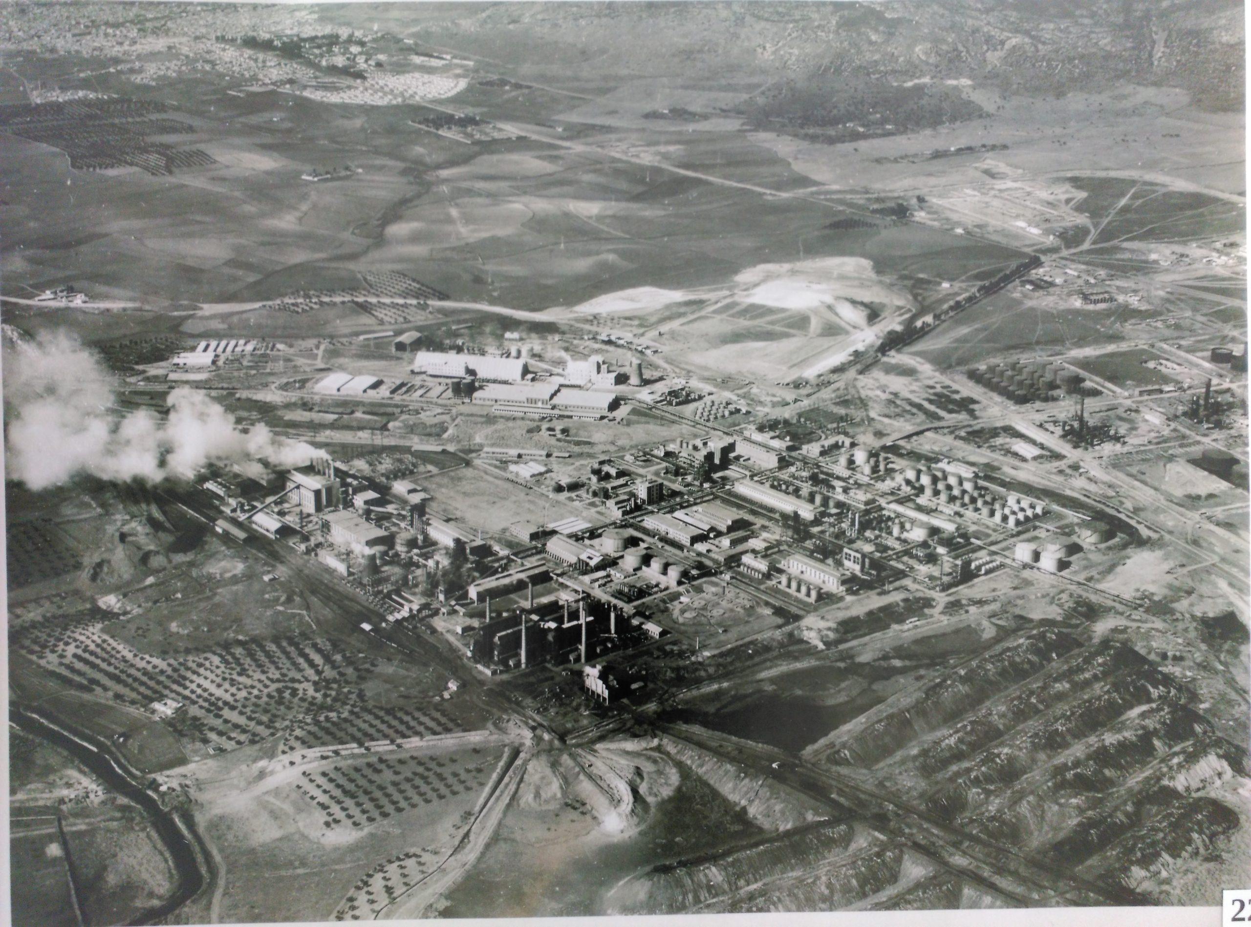 Vista aérea del Complejo Industrial Calvo Sotelo