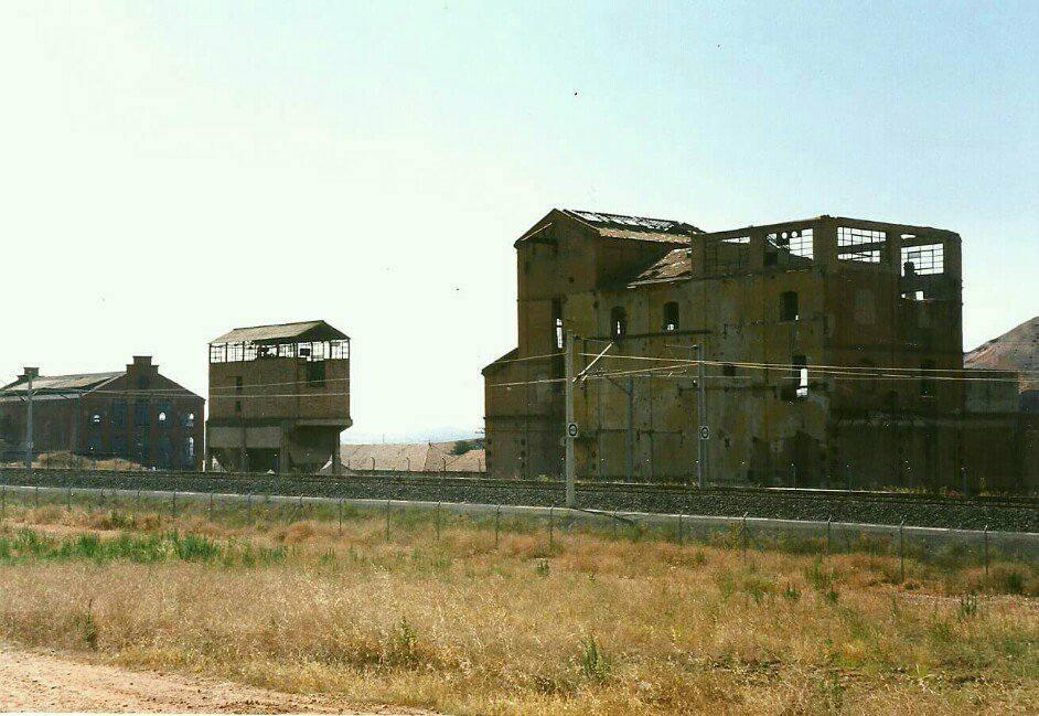 Lavadero central de carbones de la SMMP en Puertollano