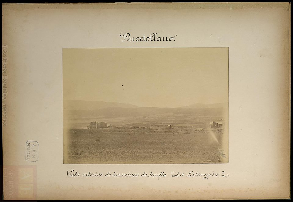 Mina La Extranjera. Finales del S. XIX. Archivos Estatales