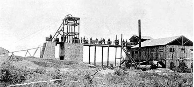 """Nuestra Señora de Lourdes. Pozo """"La Concepción. Año 1902"""