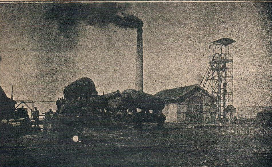 Mina Argüelles 1907. Archivo Museo Municipal.