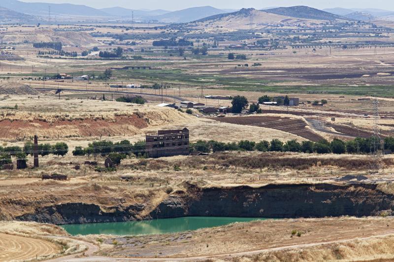 Mina La Manchega e instalaciones del pozo San Francisco, Puertollano.