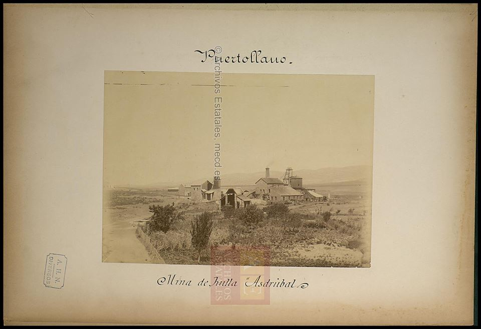 Mina Asdrúbal. Finales del S. XIX. Archivos Estatales