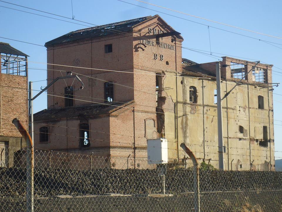 Lavadero de Carbón de la Sociedad Minero Metalúrgica de Peñarroya. Julio 2015
