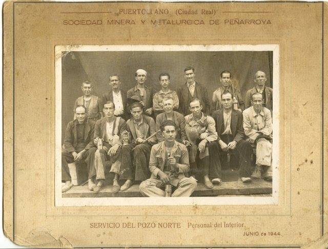 Servicio del Pozo Norte. 1944