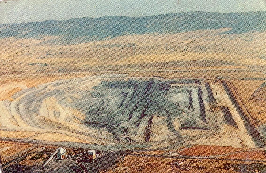 Encasur. Extracción del carbón a cielo abierto