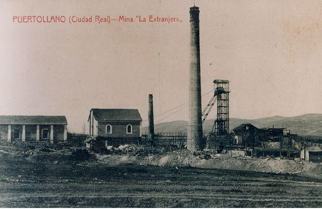 Pozo San Vicente en mina La Extranjera