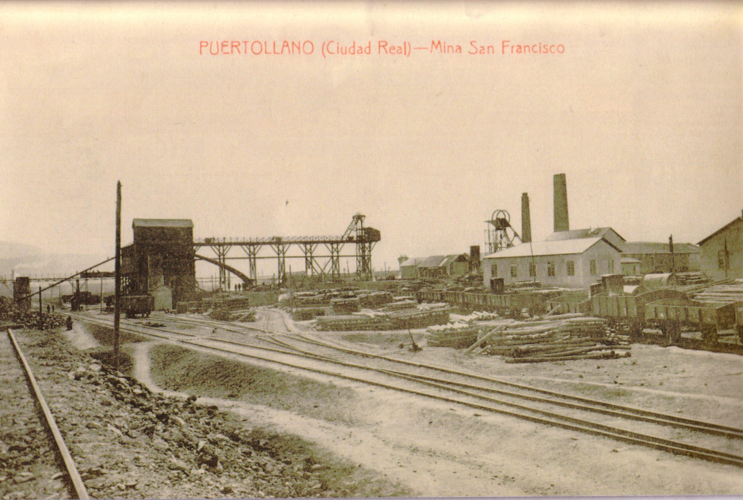 Mina San Francisco. Fotografía Enrique Malagón. 1920