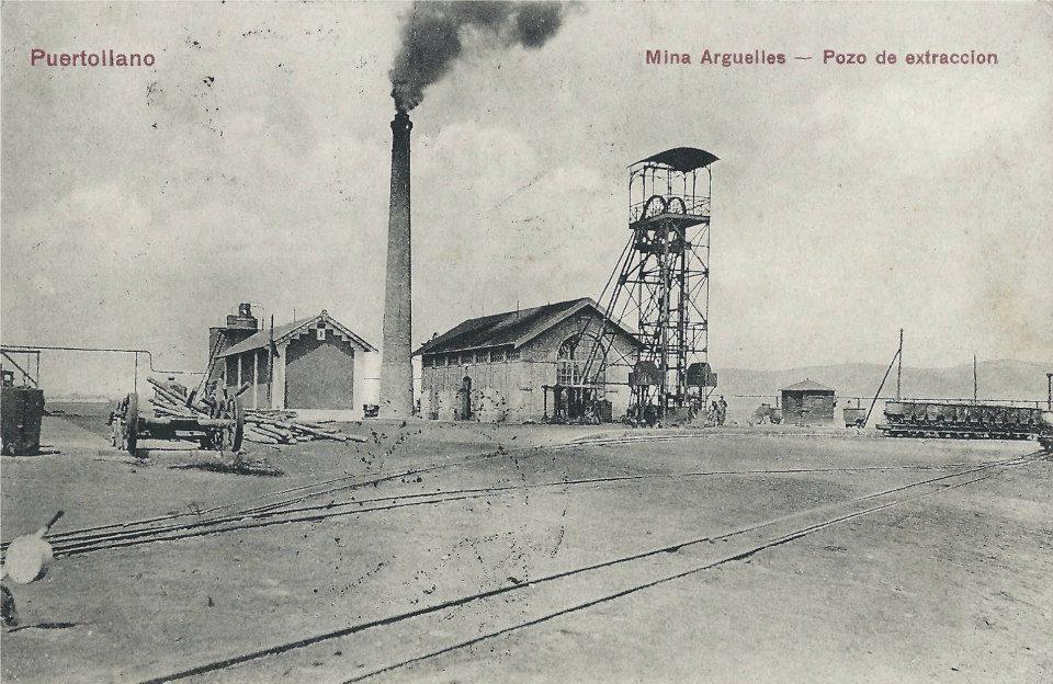 Pozo de extracción. Mina Argüelles