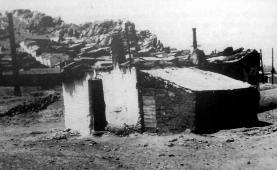 Vivienda de los mineros que se establecieron en el barrio de las Mercedes y el Carmen a principios del S.XX