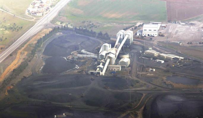Desmantelamiento de la planta del lavadero de carbón de la Empresa Carbonífera del Sur (Encasur), la última mina de Puertollano.-Oct. 2016