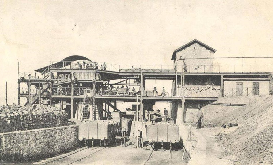 Mina Argüelles. Las Cribas. Archivo Museo Municipal