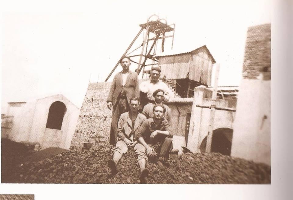 Mineros de Almodóvar del Campo, en La Mina La Pepita en Puertollano