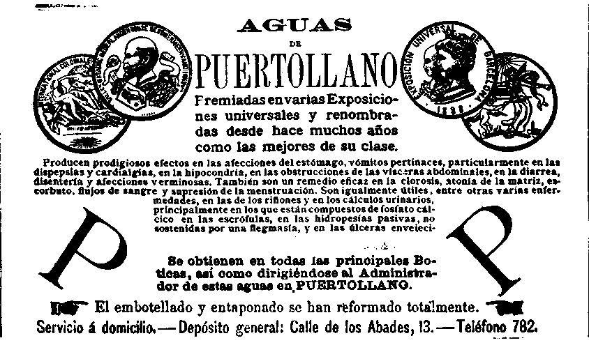 En el periódico Eco de Cartagena aparecía el siguiente anuncio sobre el bien más preciado de Puertollano. 1801