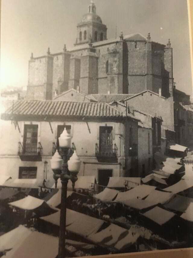 Mercado de la Plaza de la Tercia. 1955
