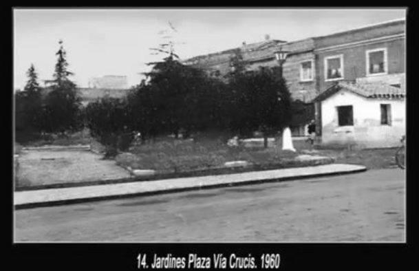 Plaza Vía Crucis. 1960