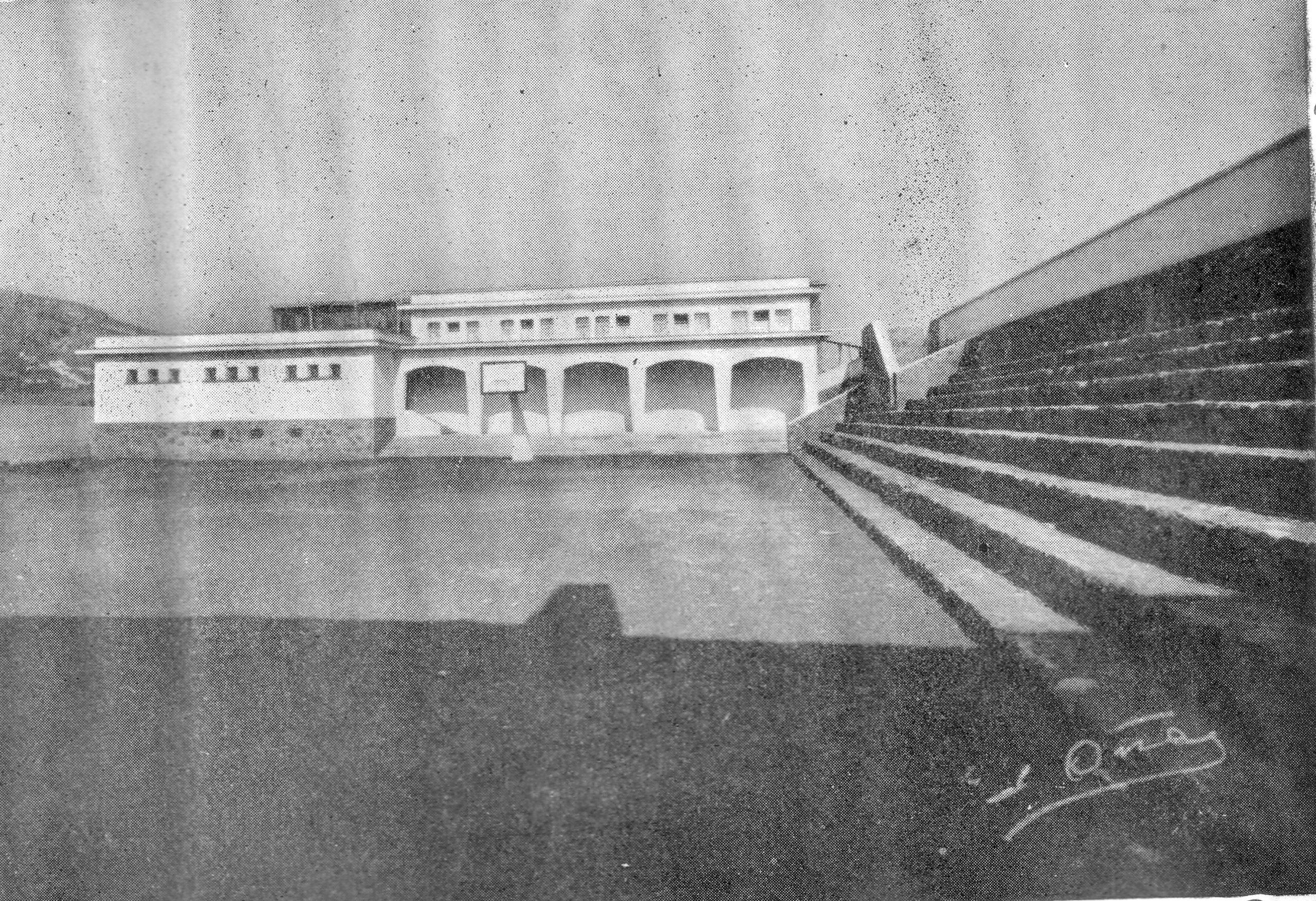 Gimnasio Municipal-1960. Fotografía Oña