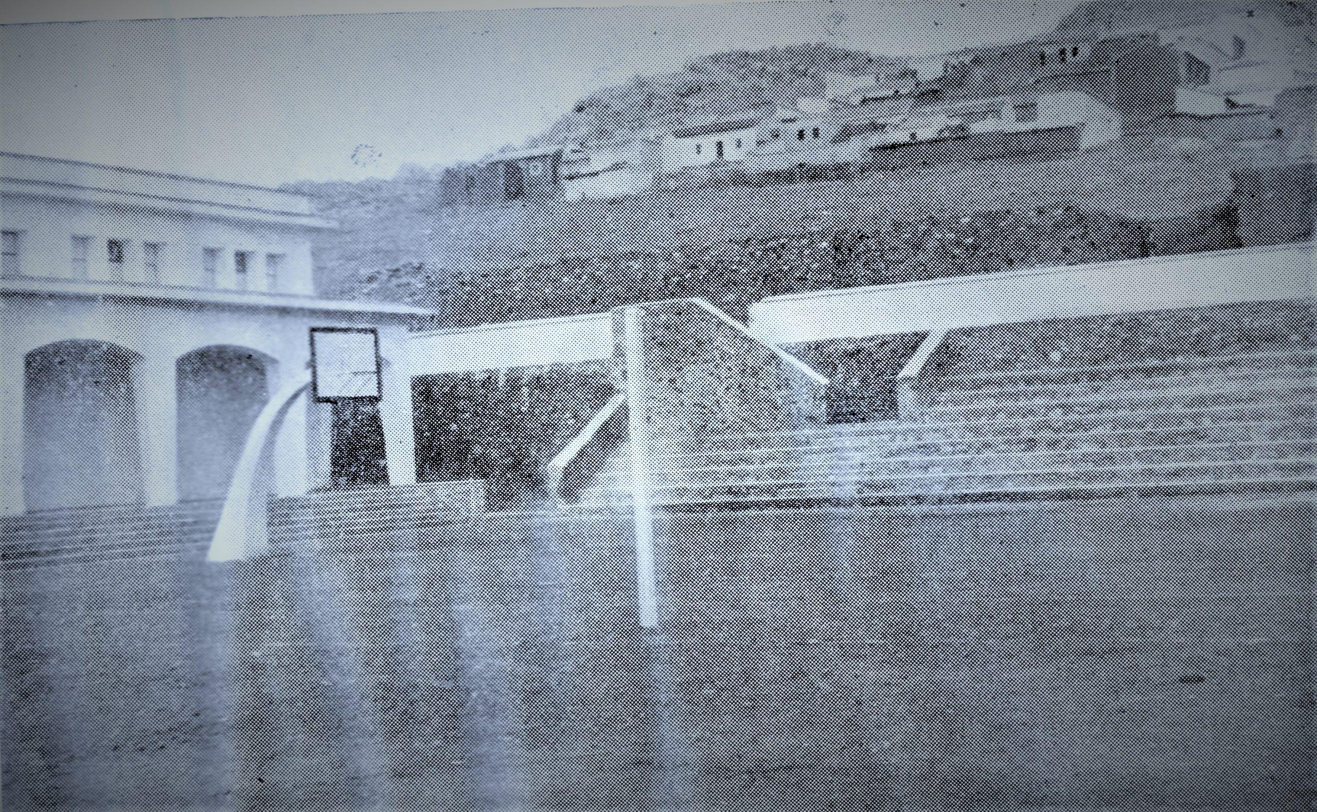 Gimnasio Municipal-1960 Fotografía Oña