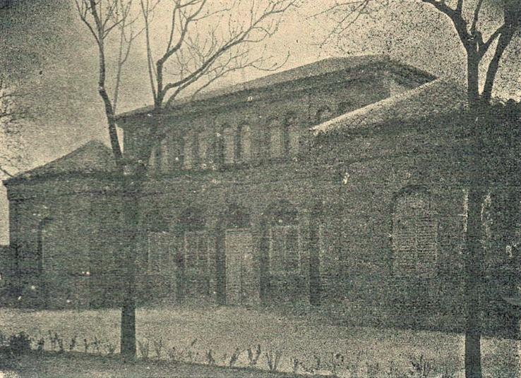Balneario de Aguas Medicinales. 1907. Archivo Museo Municipal