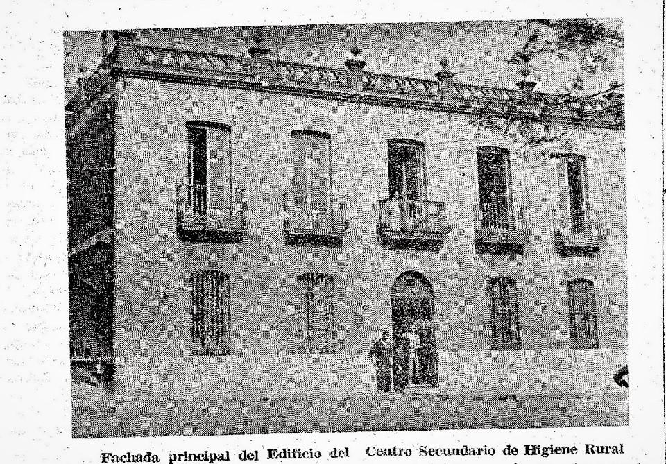 Centro Secundario de Higiene Rural Lanza; 2-5-1944
