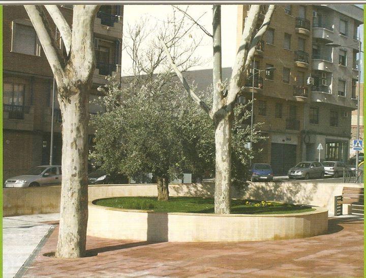 Rotonda del Monumento al Pilancon de los Burros, Archivo Felipe Valentín García