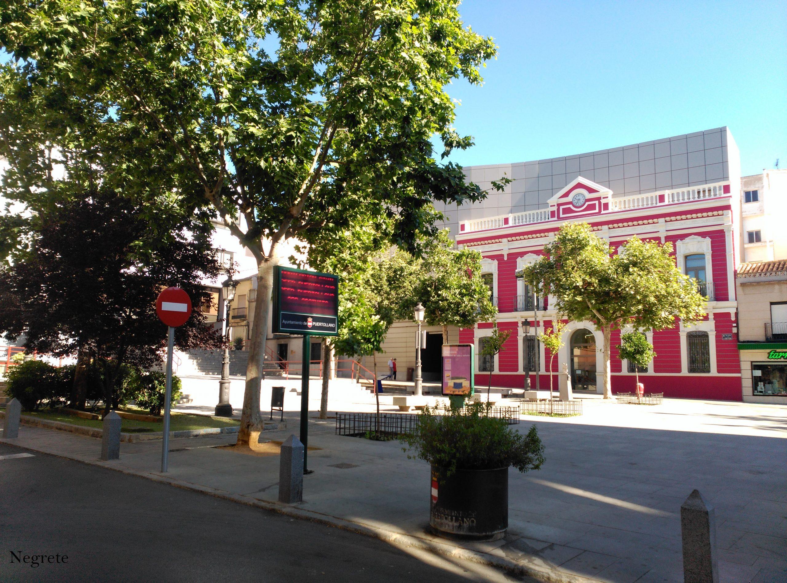 Plaza del Ayuntamiento. 2017 Fotografía F. Negrete