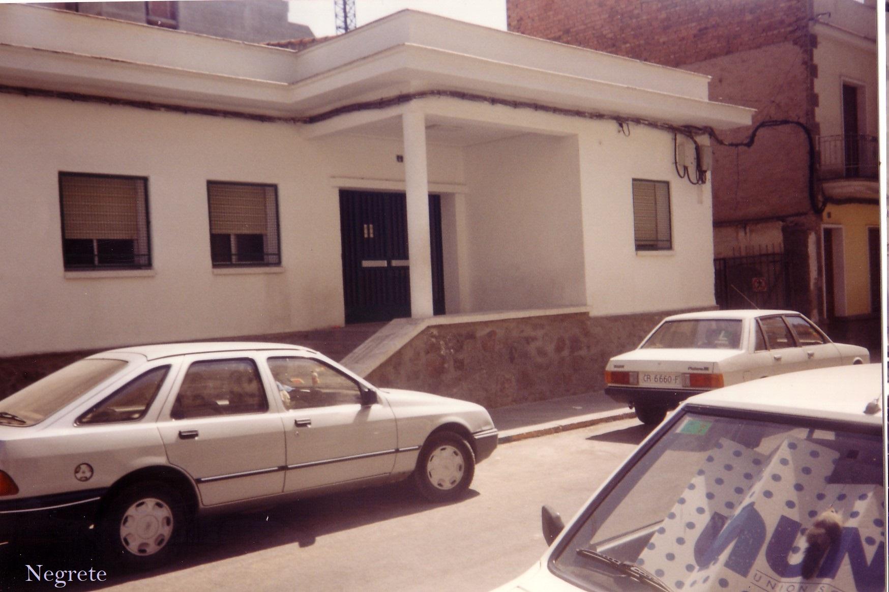 Gimnasio Municipal Fotografía F. Negrete 1990