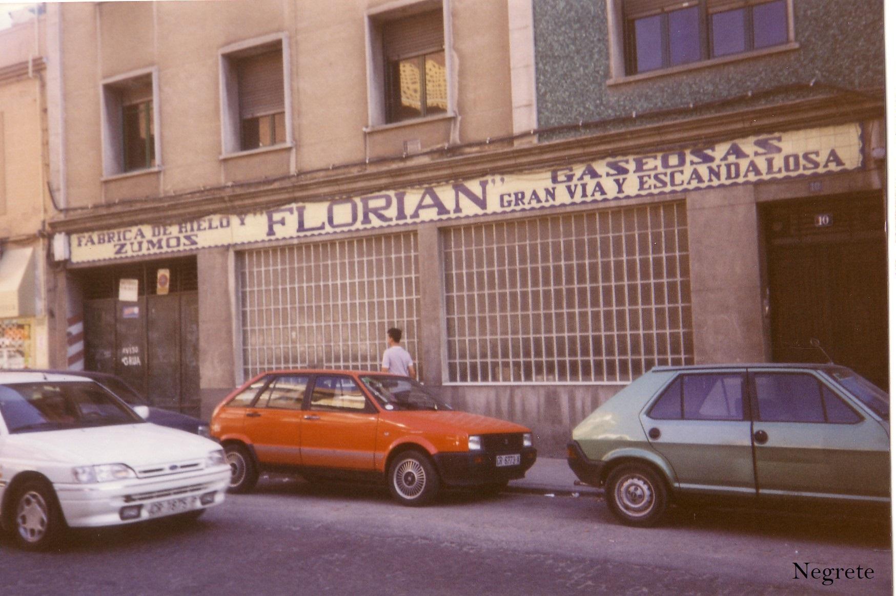 Hielos Florián Fotografía F. Negrete 1990