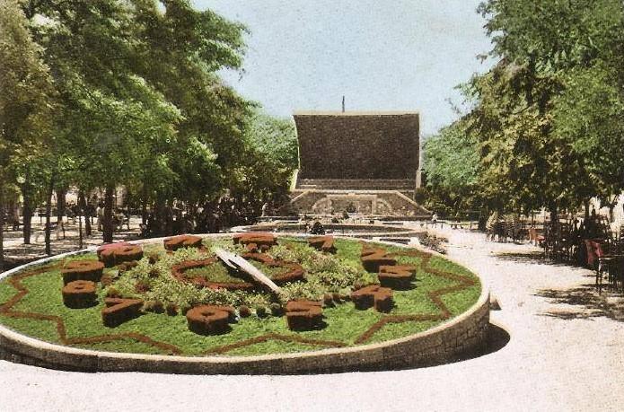 EL reloj fue inaugurado en la Feria de Mayo de 1962