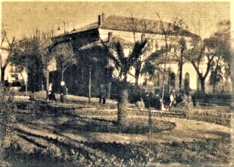 Jardines y Casa de Baños. Años 50