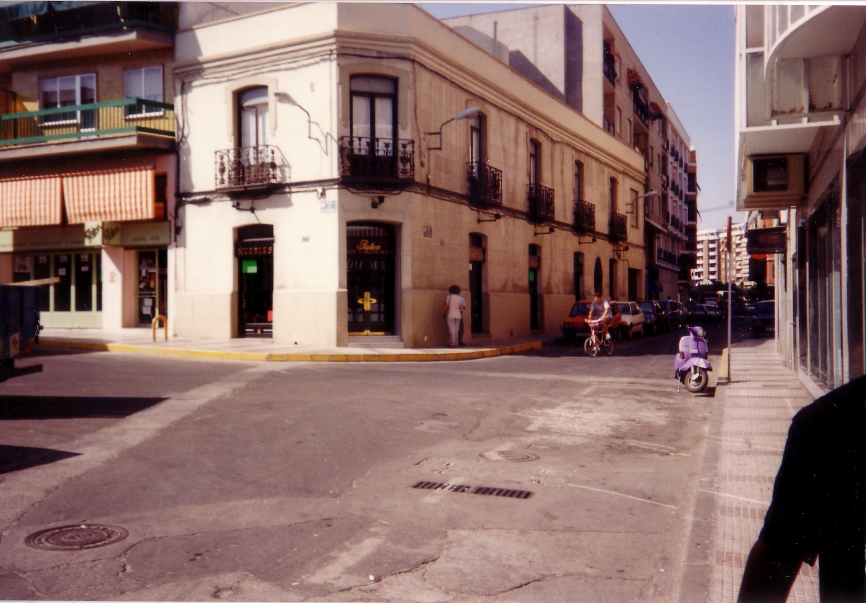 Plazolete Patón. 1990. Fotografía F. Negrete